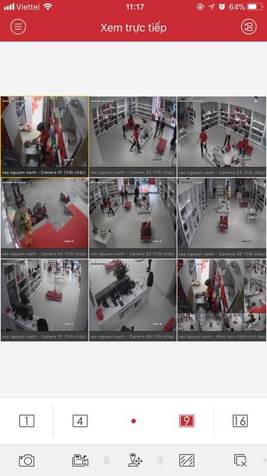 Vị trí lắp camera cho tiệm vàng